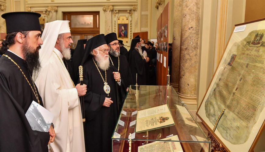 """Expoziție de documente și fotografii """"Justinian Patriarhul – viața și activitatea"""""""