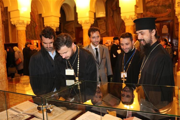 """Vernisarea expoziției """"Mărturii ale credinței în chipuri și icoane sfinte"""""""