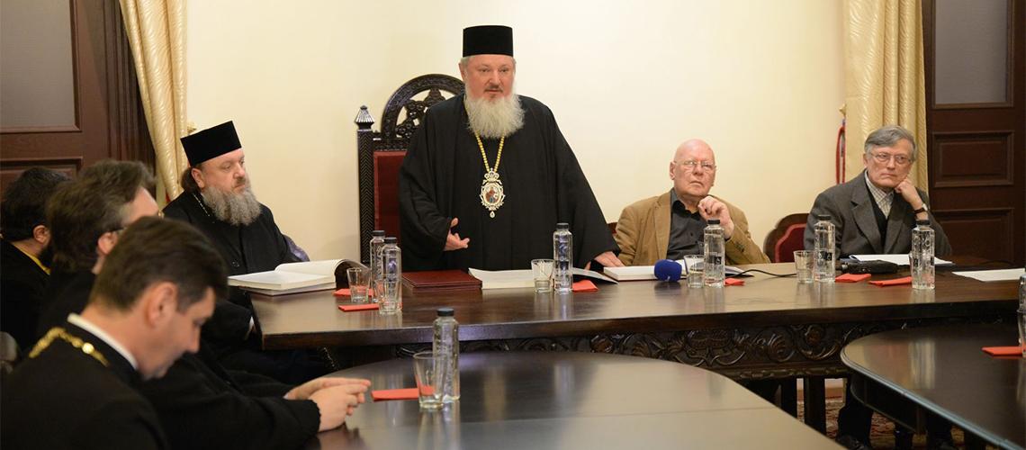Dublă lansare de carte la Biblioteca Sfântului Sinod