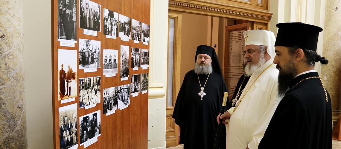 Viața și activitatea Patriarhului Miron Cristea - expoziție de fotografii, cărți și documente
