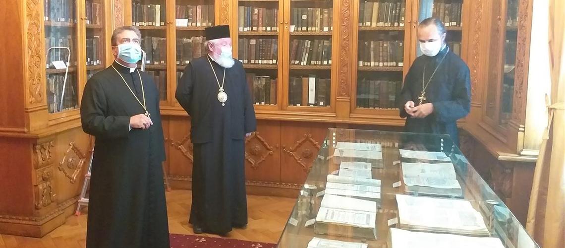Vizită la Biblioteca Sfântului Sinod